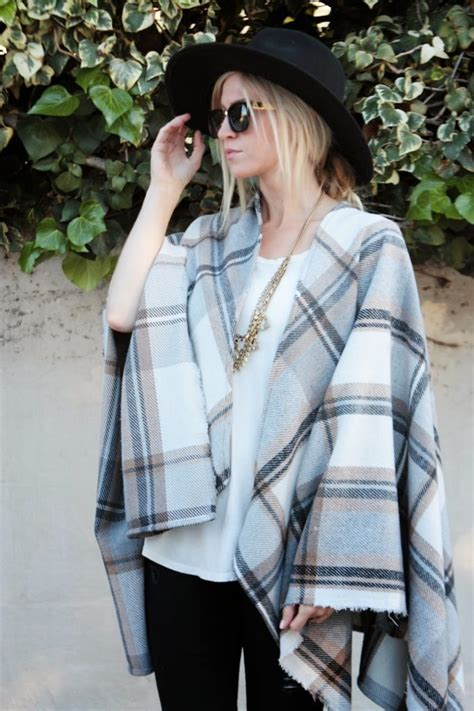 Draped In Plaid by Draped In Plaid Cape Tutorial Apparel By Leanne