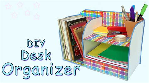 Diy Desk Organizer Ana Diy Crafts Youtube Desk Organizer Diy