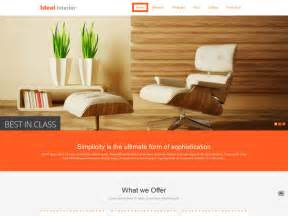 Furniture Template by 19 Free Interior Design And Furniture Website Templates