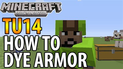 Magic Cooker 3in1 Vr 123 minecraft xbox 360 ps3 tu14 update how to dye armour collar tutorial guide
