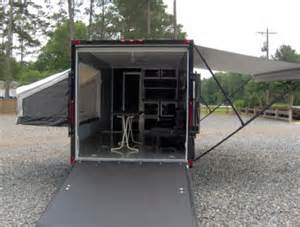 Small Window Awnings 7x18 Camper Enclosed Motorcycle Cargo Trailer Toy Hauler A