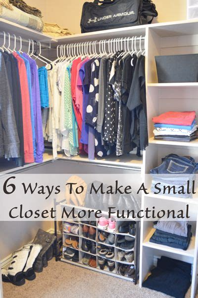 how to make your closet organized 17 best ideas about small closet organization on