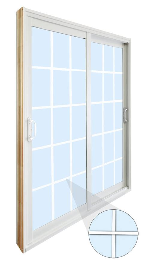 6 Ft Patio Doors Stanley Doors Sliding Patio Door 15 Lite