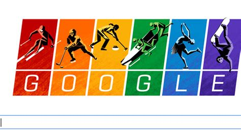 doodle olympics play rainbow olympic doodle disses russia s anti laws