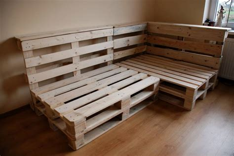 sofa pallets pallet sectional sofa diy and crafts