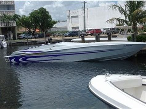 boat paint jobs miami unavailable used 1999 apache warrior 36 repowered in