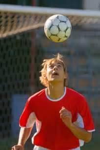 Soccer player heading soccer ball 1 jpg
