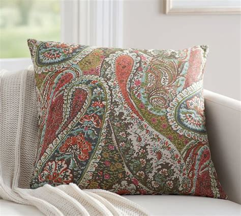 Pillow Covers Pottery Barn by Zia Paisley Reversible Pillow Cover Pottery Barn