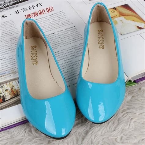 light blue ballet flats image gallery light blue flat shoes