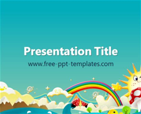 cartoon ppt template free powerpoint templates