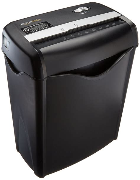 paper shredder cross cut 6 sheet cross cut paper and credit card shredder ebay
