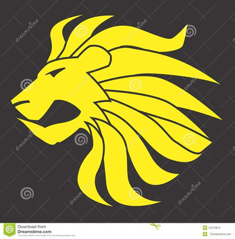 eps format adobe illustrator lion cat vector design clipart stock vector image 41570813