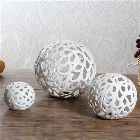 Decorative Ceramic Balls Sale by Aliexpress Buy 2016 New Modern White Porcelain