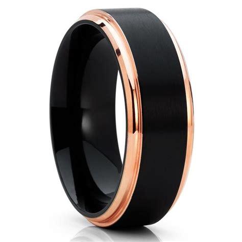 Black Titanium Ring Wedding by Black Titanium Ring Titanium Wedding Band S