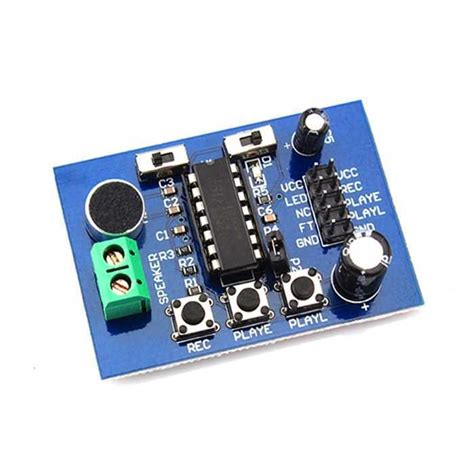 Isd 1820 Voice Module Isd 1820 Modul Perekam Suara buy isd1820 record and play modul with cheap price