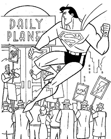 comic book coloring pages print superman coloring pages free printable coloring pages