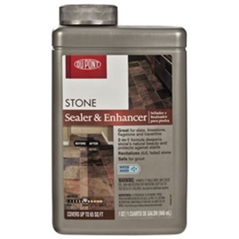 dupont stone sealer and enhancer 1 quart floor decor