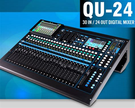 Mixer Allen Heath Qu24 qu24