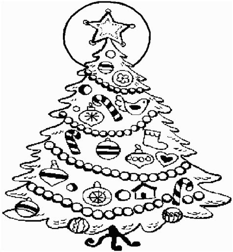 weihnachtsbaum malvorlage coloring page tree coloring pages 11