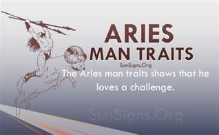 aries man personality traits characteristics sun signs