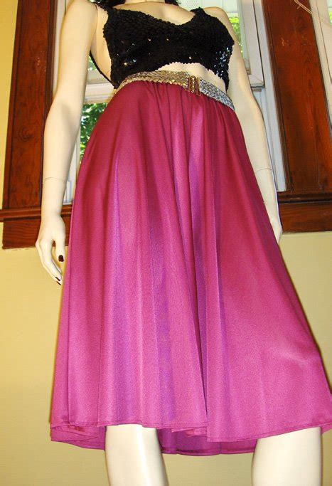 A Shimmery Disco by Vintage 70s Disco Glam Shimmery Fuschia