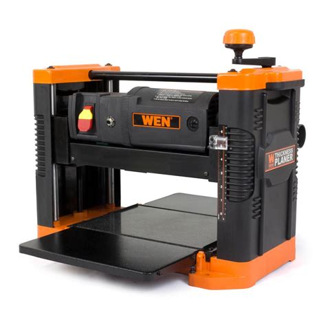 bench planer reviews wen 6550 12 5 inch 15a benchtop thickness planer with