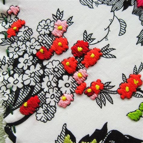 Black Floral Curtains 202 Best Embroidery Images On Pinterest Embroidery Hand