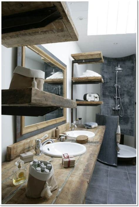 rustic bathroom wall cabinet 42 ideas for the perfect rustic bathroom design