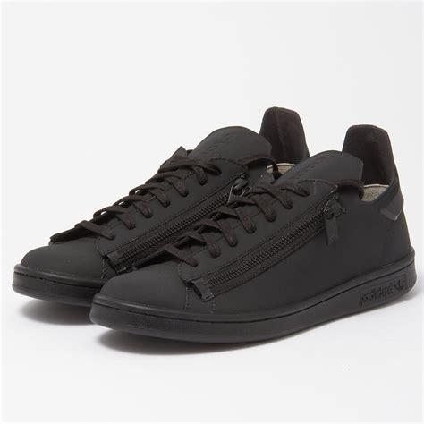 Adidas Y 3stan Zip Sneakers by Adidas Y 3 Stan Zip Black Trainers Cg3207 Stuarts