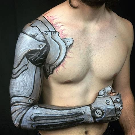 automail tattoo fullmetal alchemist by jody steel stay tuned for a new