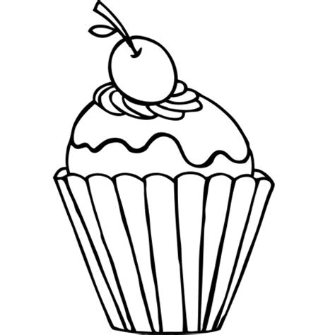 Free Coloring Pages Of Sweet Cup Cake Cupcake Printable Coloring Pages
