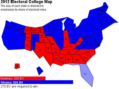 2012 us election electoral map 2012 presidential election map