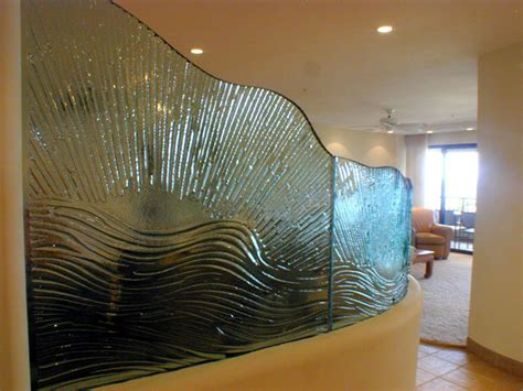 glass partition design glass wave partition