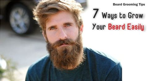 7 Ways To Fashionably Fit In With The 70s Revival by Beard Grooming Tips 7 Ways To Grow A Beard Easily
