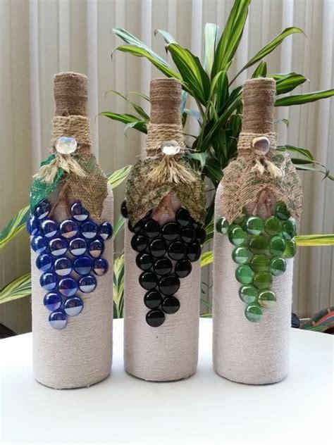 17 mejores ideas sobre botellas decoradas en