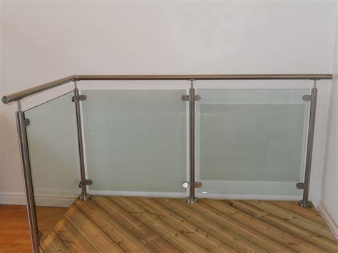 Metal Balustrade Stainless Steel And Glass Balustrade System Steel And