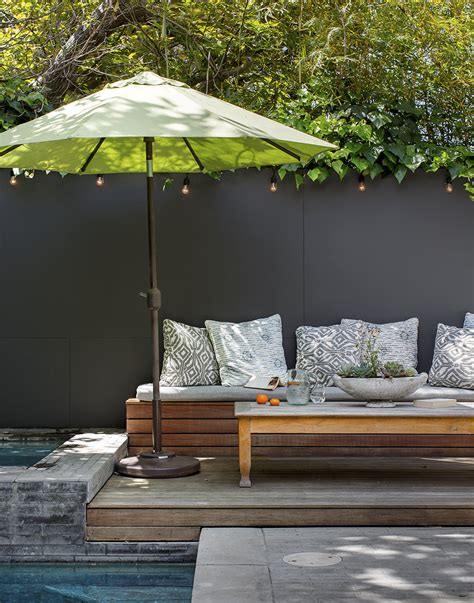 backyard shades sun shade outdoor patio design ideas lonny