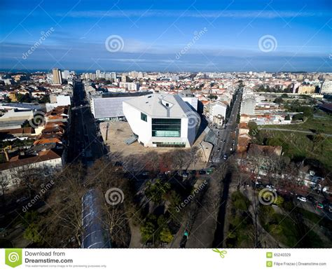 portuguese house music house of music porto portugal stock photo image 65240329