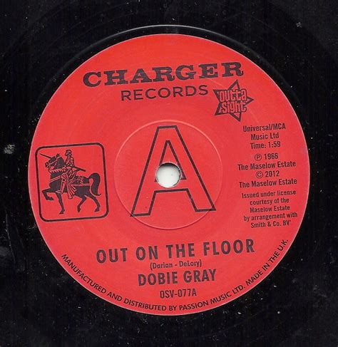 Out On The Floor Dobie Grey by Chapman Records Northern Soul Mod Ska And Motown