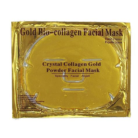 Collagen Gold Powder Mask collagen gold powder mask effect anti aging