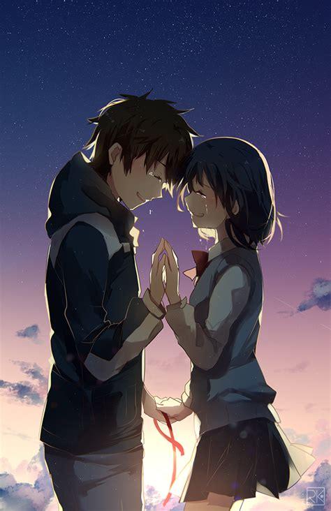 anime kimi no nawa episode 1 fanart kimi no na wa wallpaper anime
