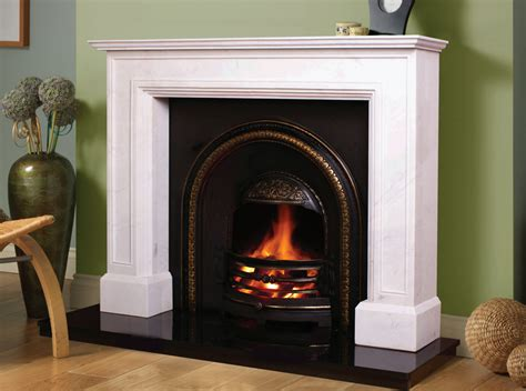Marble Fireplaces Ireland by Doha Fireplace In Ivory Pearl Marble Marble Fireplaces