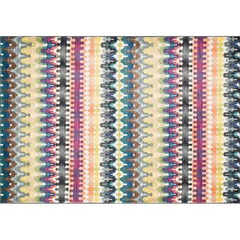 Loomed Rugs by Loloi Madeline 2 X 3 Power Loomed Rug In Stripe Mademz