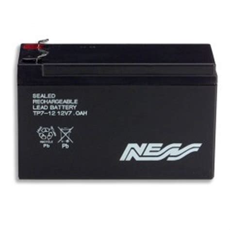 ness security alarm battery 12v 7ah home security