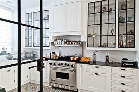 steel frame kitchen cabinets window watching sfgirlbybay