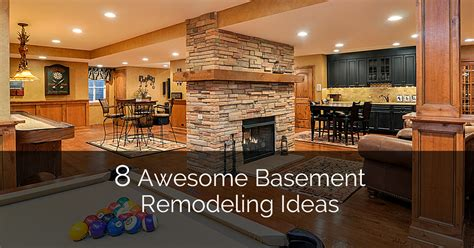 Remodeling Tips | 8 awesome basement remodeling ideas plus a bonus 8