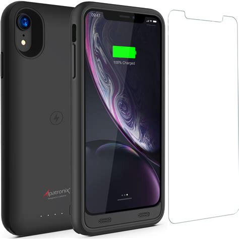 alpatronix bx10r 3500mah protective battery charger compatible with apple iphone xr 6 1