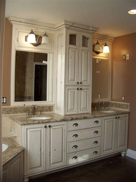 bathroom double vanity ideas smaller area for double sinks but i like the storage