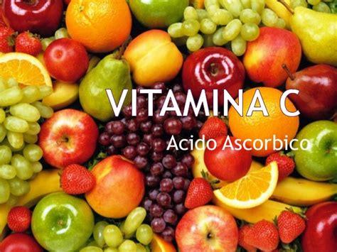 acido ascorbico alimenti vitamina c