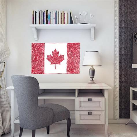 custom wall stickers canada canadian flag wall decal wall decals and wall stickers